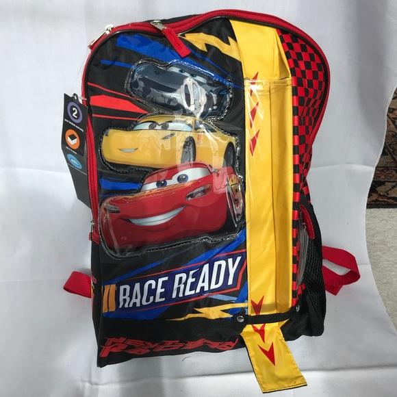 6afd074981f NWT Disney Pixar Cars 3 Backpack